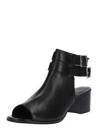 Damen Zign High Heel aus Glattleder schwarz | 04059899577816
