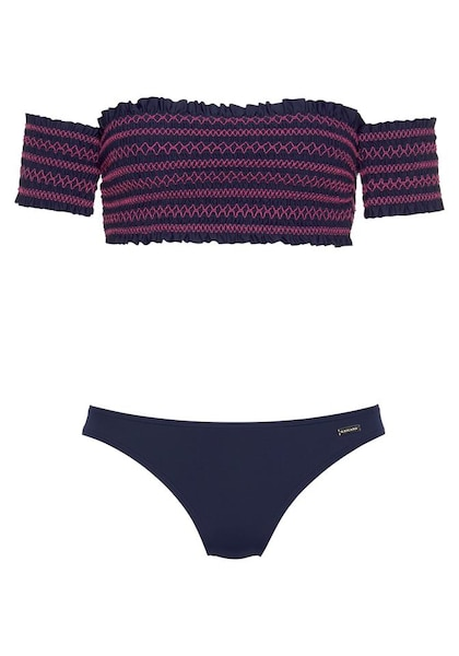 Bademode - Bandeau Bikini › Lascana › navy  - Onlineshop ABOUT YOU