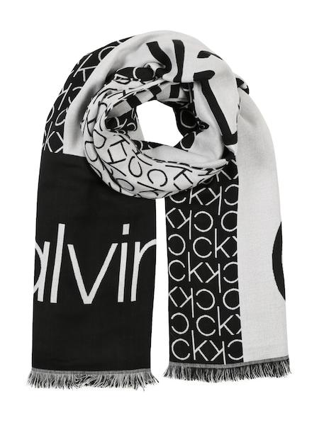 Schals - Schal 'CK JAQUARD SCARF' › Calvin Klein › schwarz  - Onlineshop ABOUT YOU