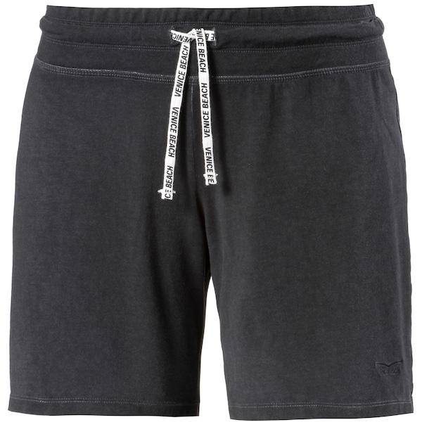 Hosen für Frauen - VENICE BEACH Sweathose 'Levyna' schwarzmeliert  - Onlineshop ABOUT YOU