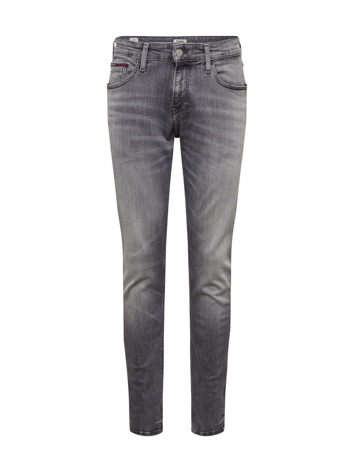 Tommy Jeans Džinsai 'Scanton' pilka