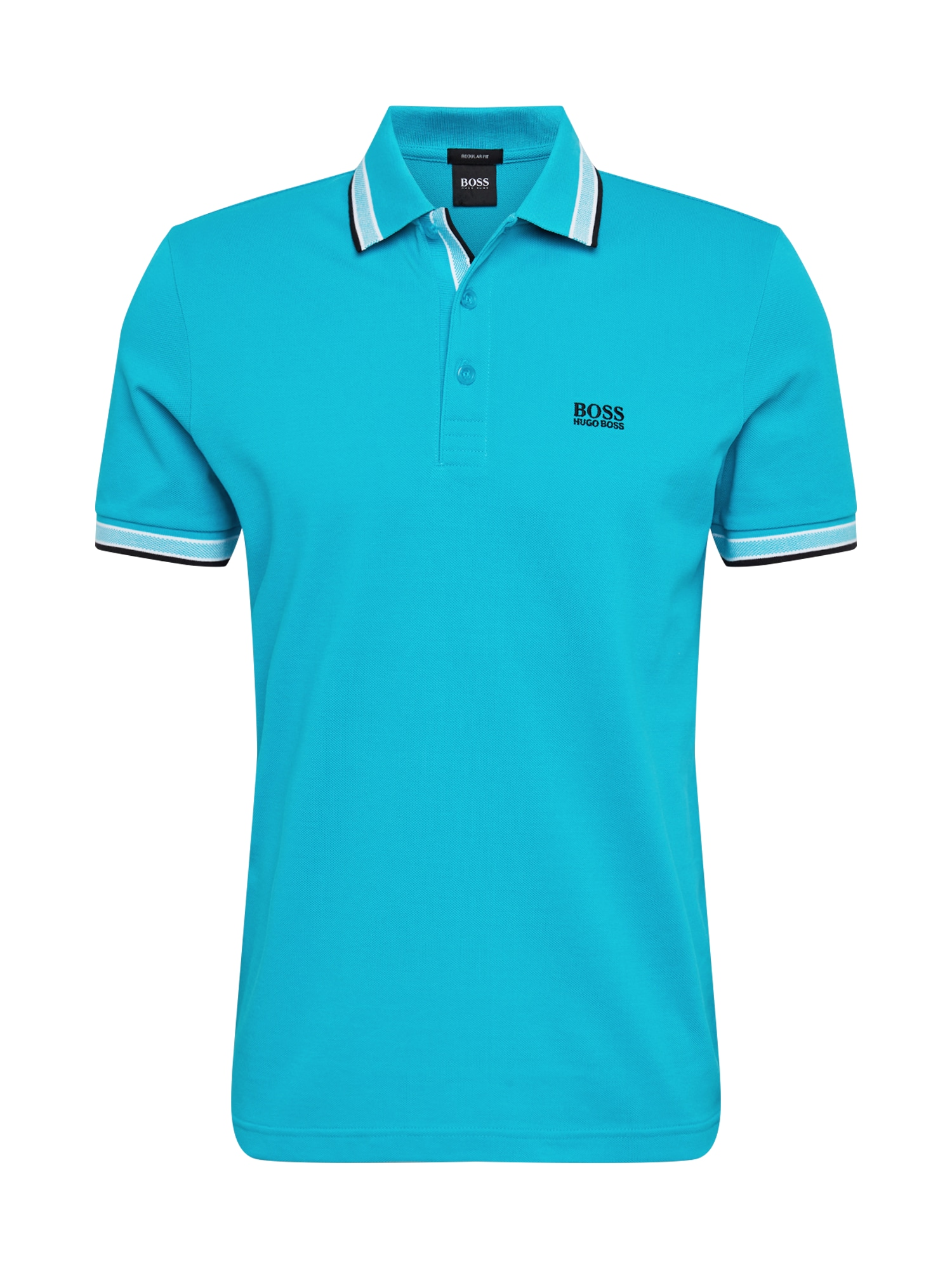 BOSS ATHLEISURE Marškinėliai 'Paddy' mėlyna