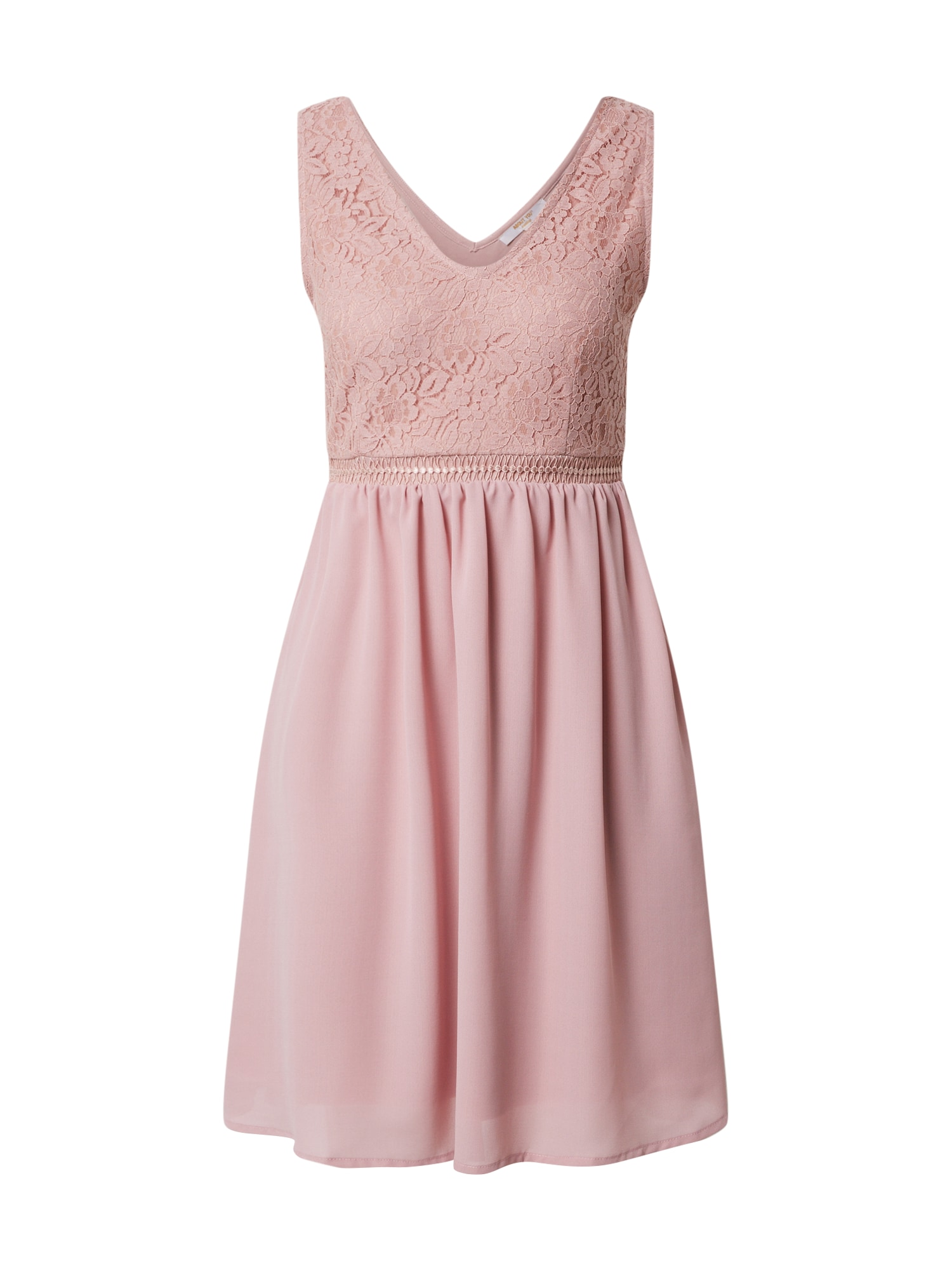 ABOUT YOU Kokteilinė suknelė 'Rose' rožių spalva