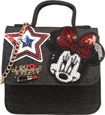 Sweet Deluxe Koffertasche 'Minnie' mit Pailletten-Patches