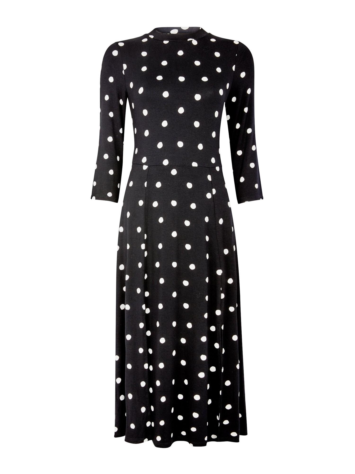 Dorothy Perkins Suknelė 'SPOT SPILT' juoda