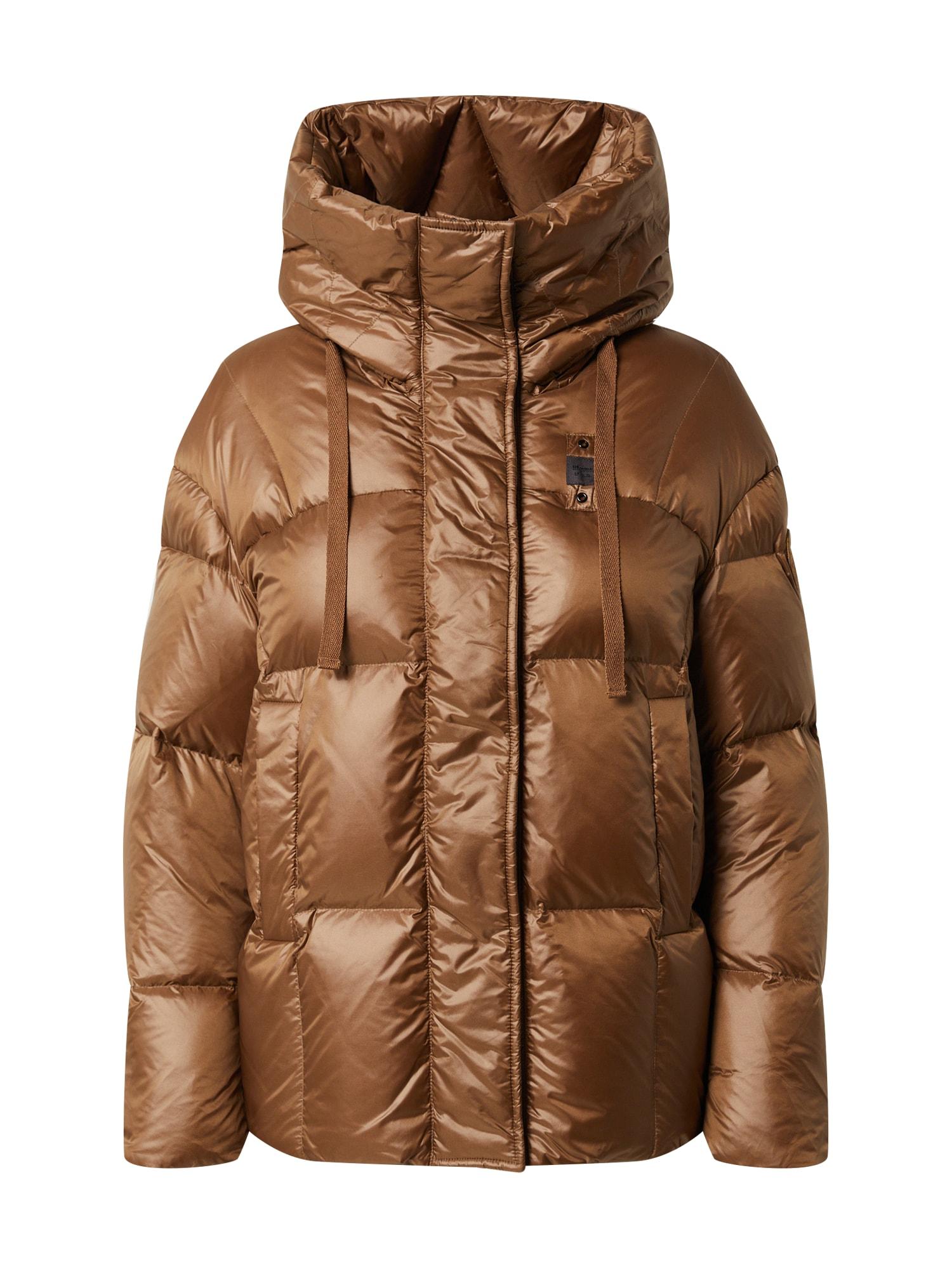 Blauer.USA Žieminė striukė ruda (konjako)