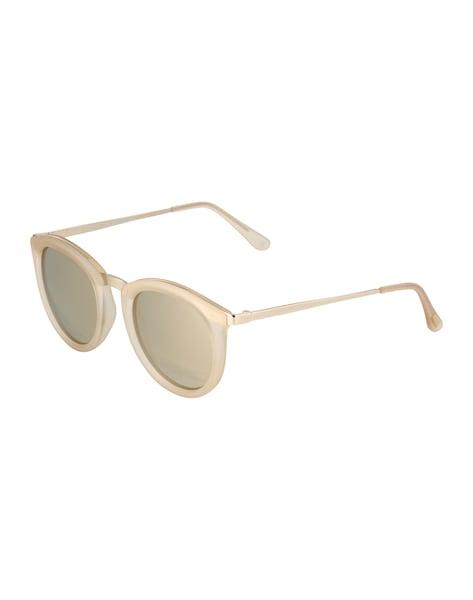 Sonnenbrillen für Frauen - LE SPECS Sonnenbrille 'No Smirking' beige  - Onlineshop ABOUT YOU