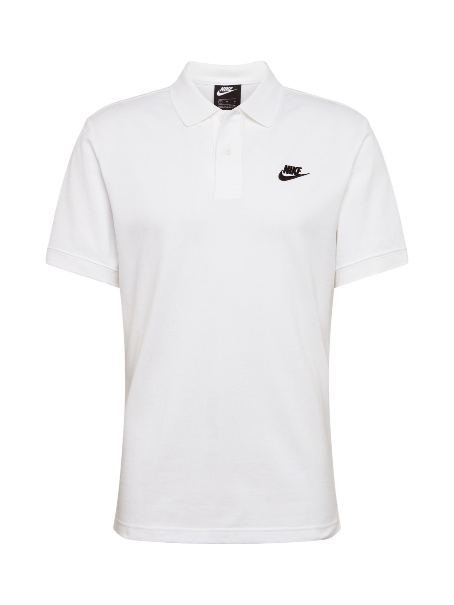 Nike Sportswear Sportiniai marškinėliai 'M NSW CE POLO MATCHUP PQ' balta