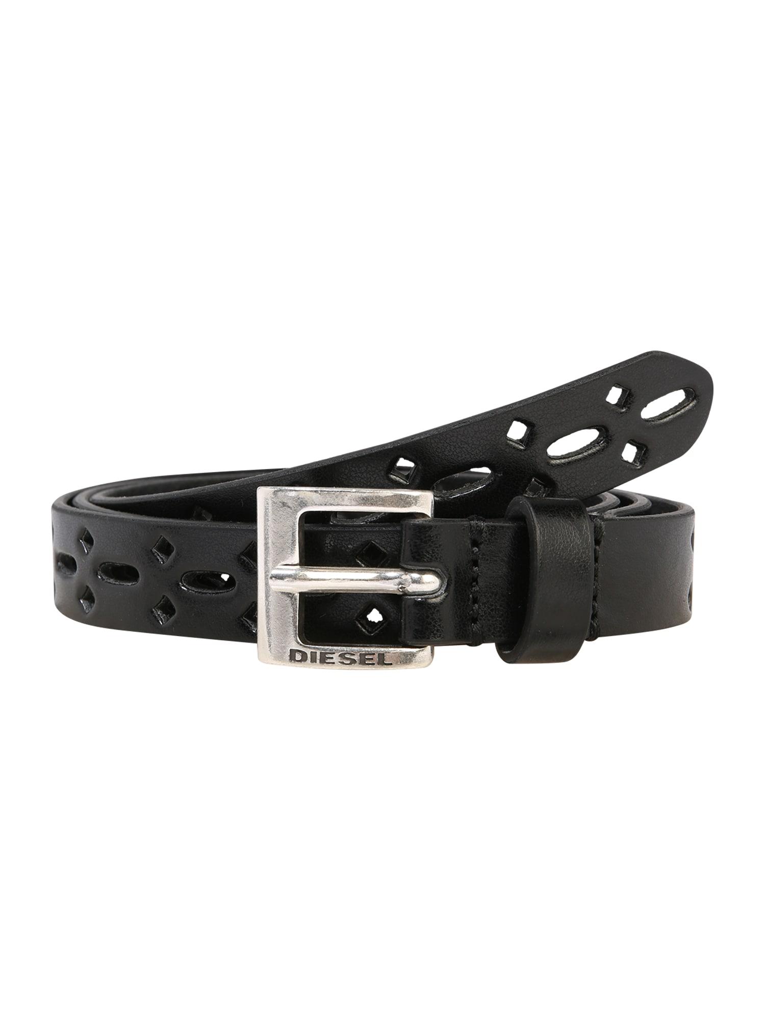 DIESEL Diržas ' B-TIROL - belt' juoda