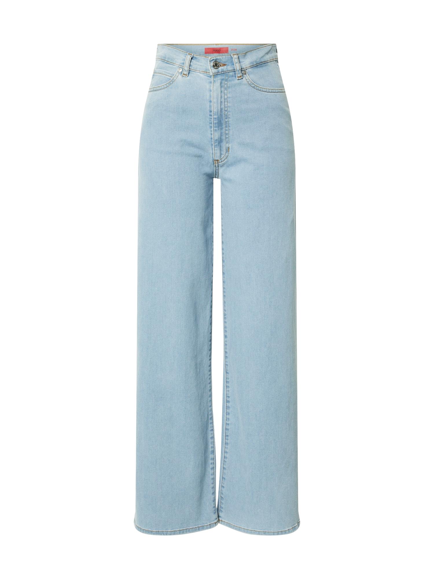 HUGO Džinsai 'Gialda' tamsiai (džinso) mėlyna