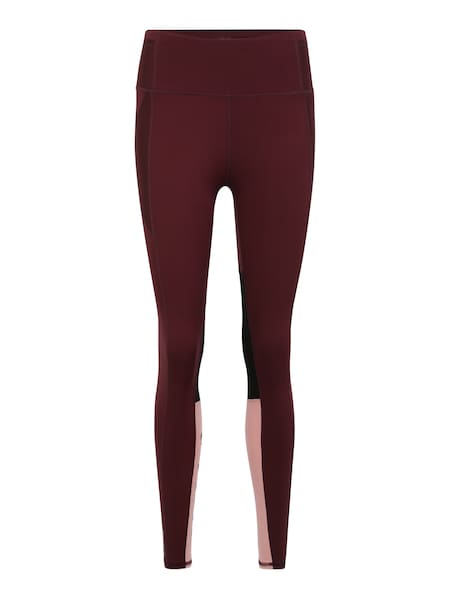 Hosen für Frauen - Leggings 'Feel It' › Puma › weinrot  - Onlineshop ABOUT YOU