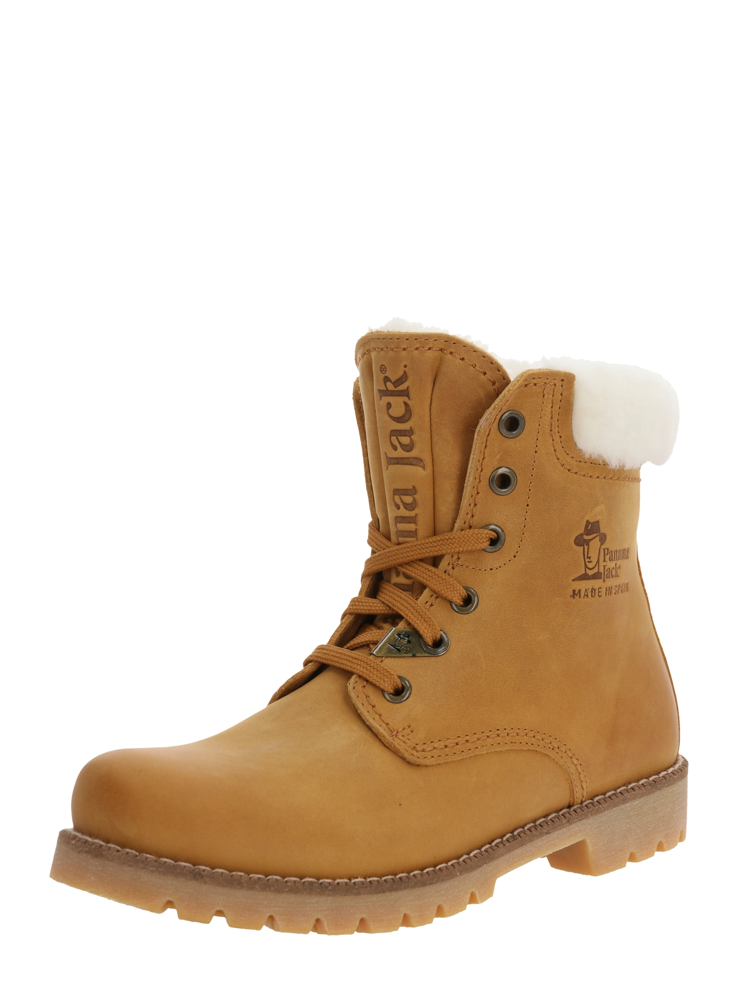 PANAMA JACK Sniego batai garstyčių spalva
