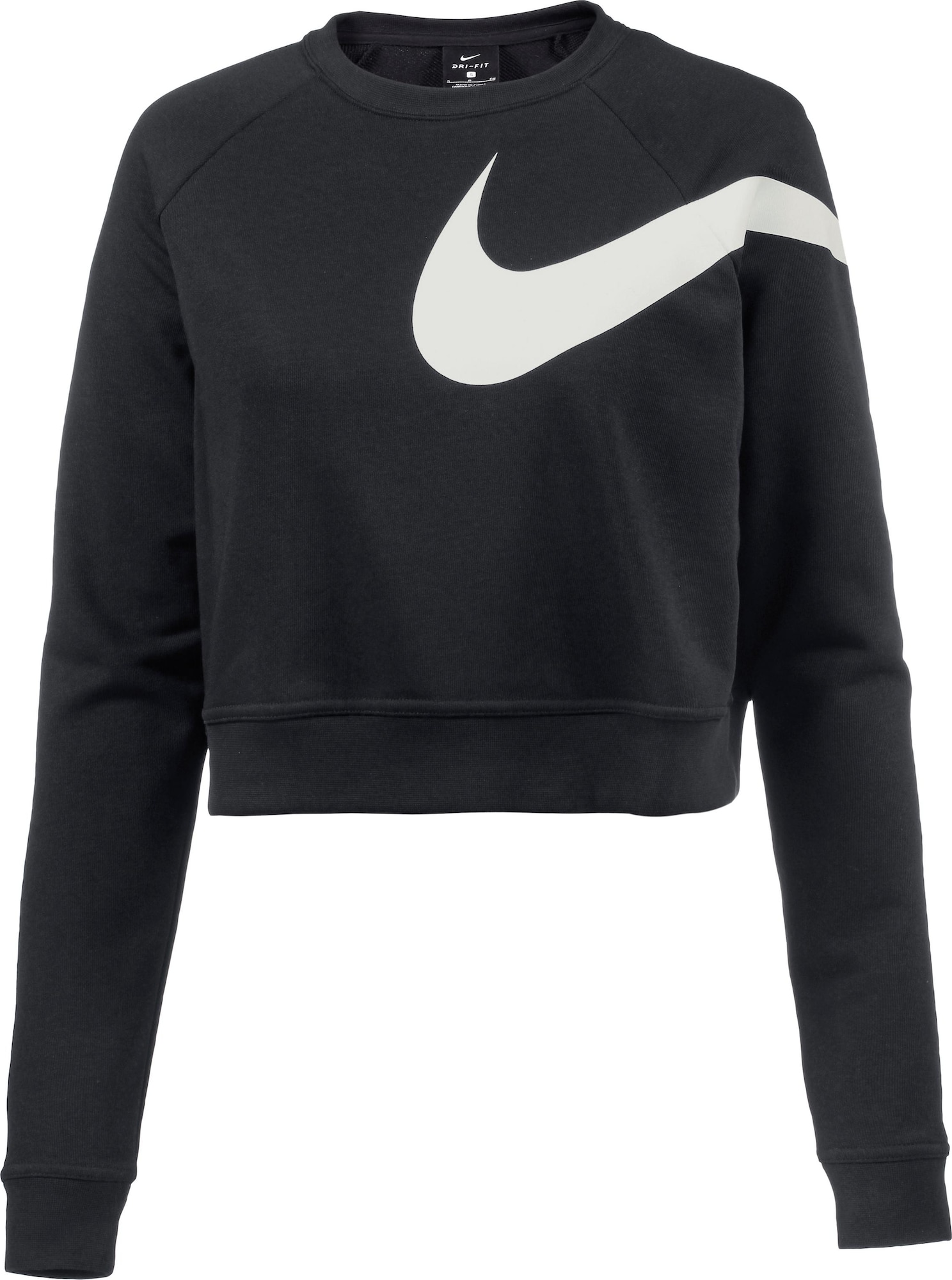 nike sweatshirt damen in schwarz. Black Bedroom Furniture Sets. Home Design Ideas
