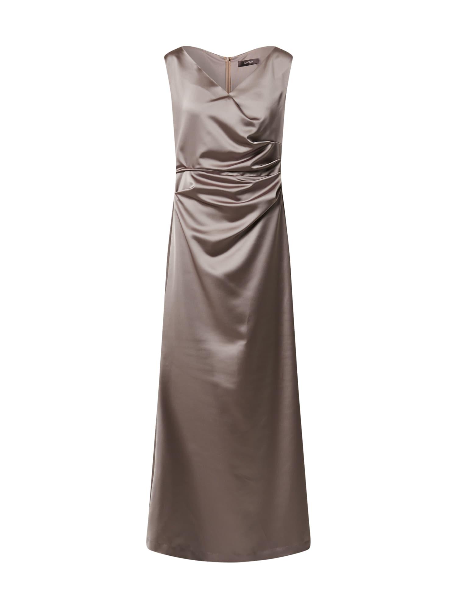 Vera Mont Vakarinė suknelė rausvai pilka