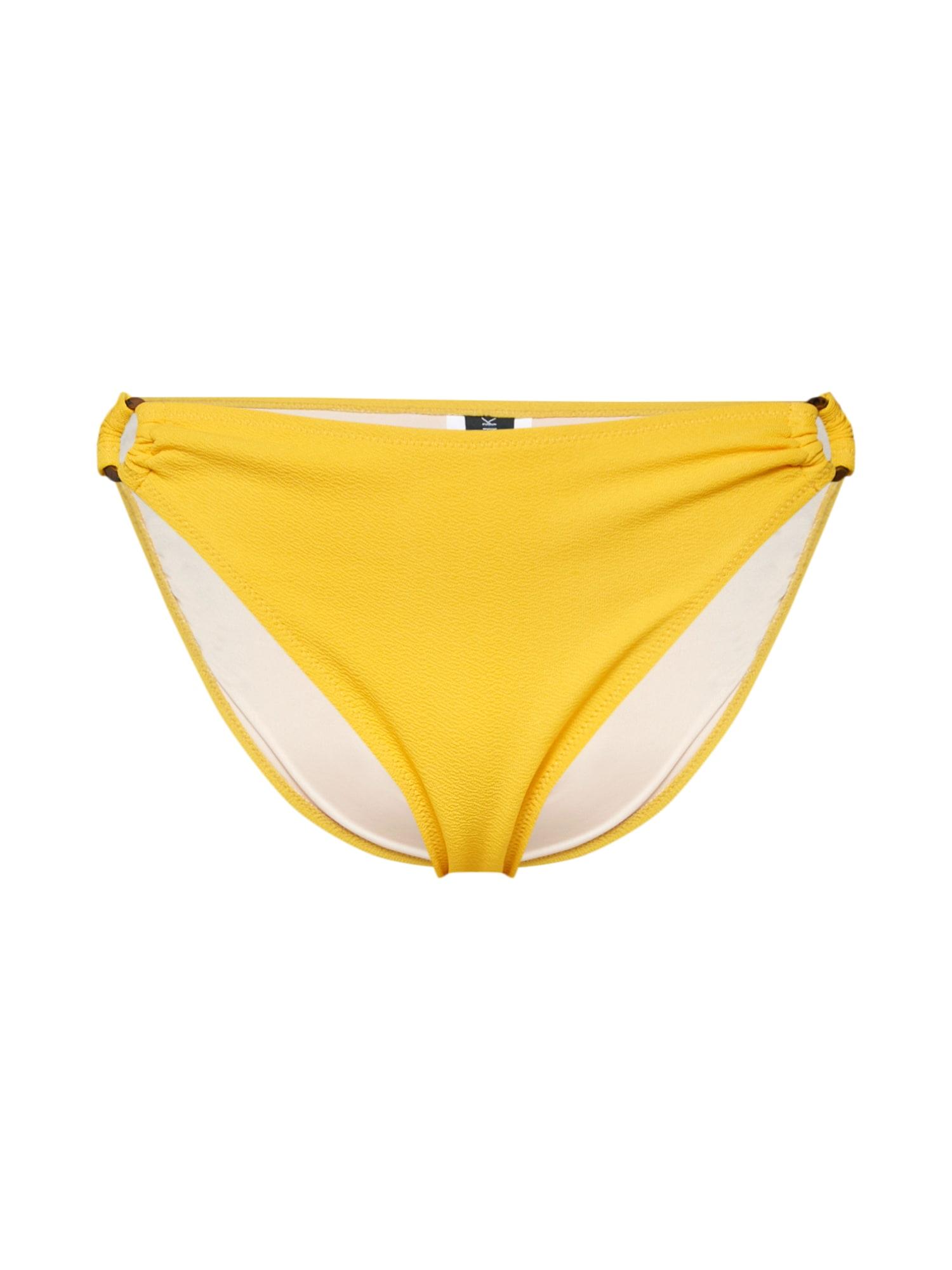 Spodní díl plavek LOREN RING BOTTOMS žlutá MINKPINK