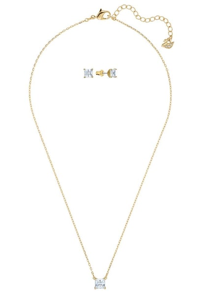 Schmucksets - Set Ohrring und Ketten › Swarovski › gold  - Onlineshop ABOUT YOU