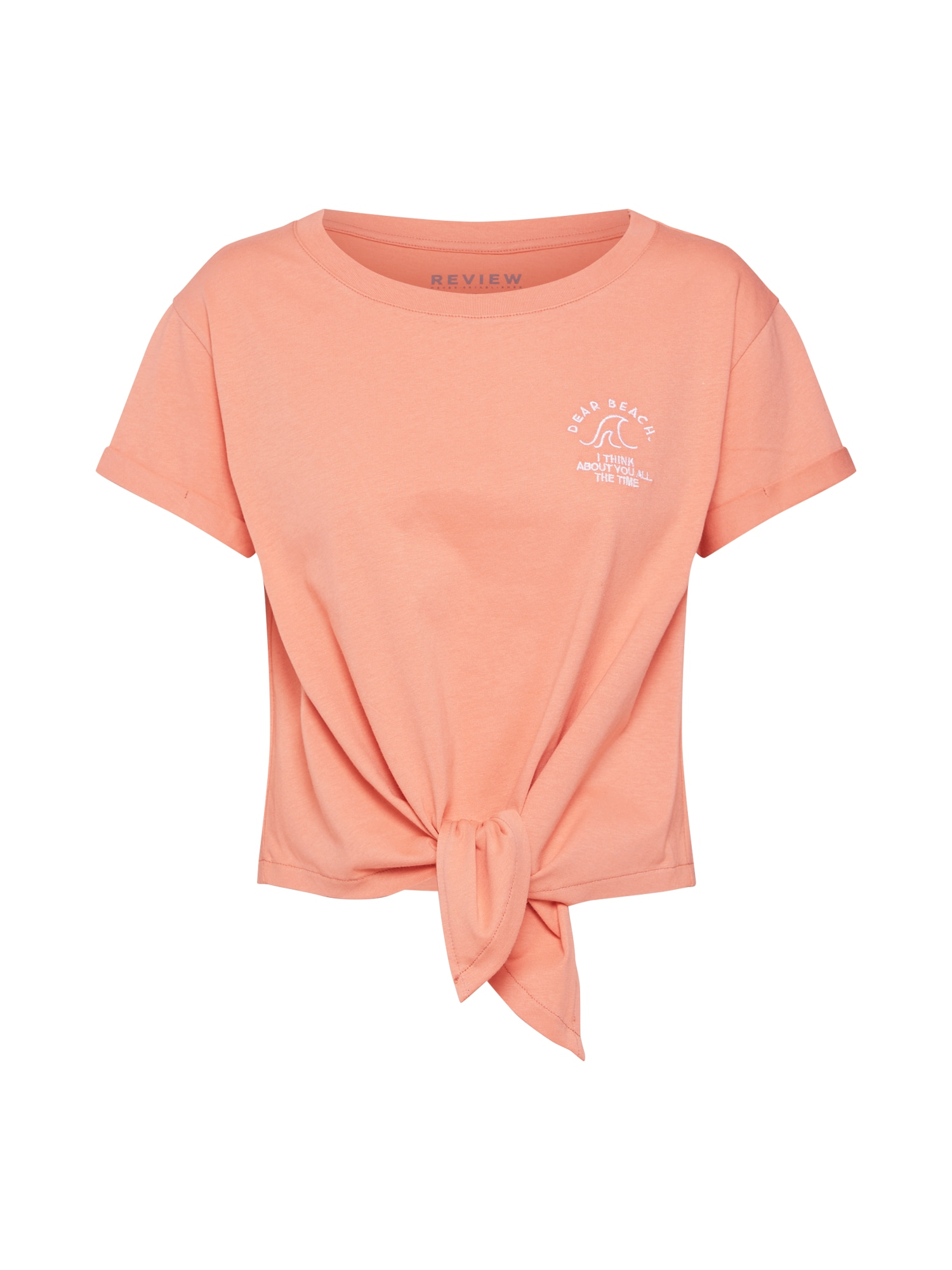 Tričko oranžová Review