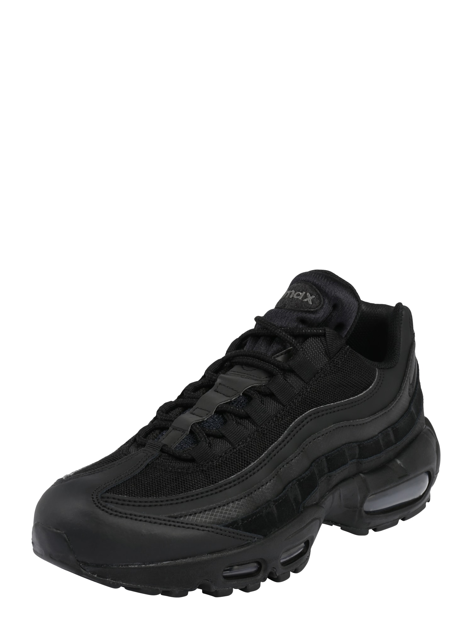 Nike Sportswear Nízke tenisky  tmavosivá / čierna