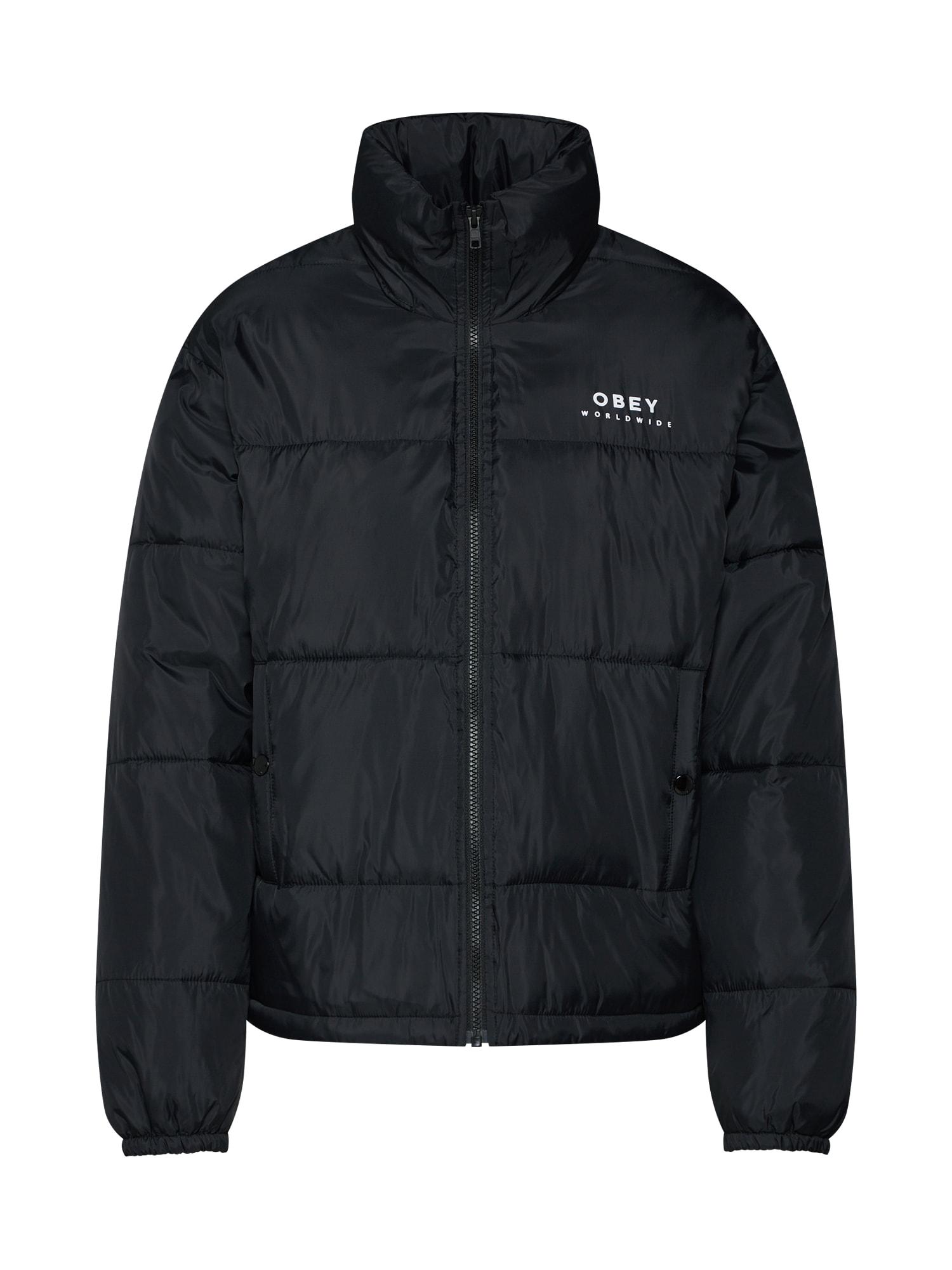 Zimní bunda RUBY JACKET černá Obey