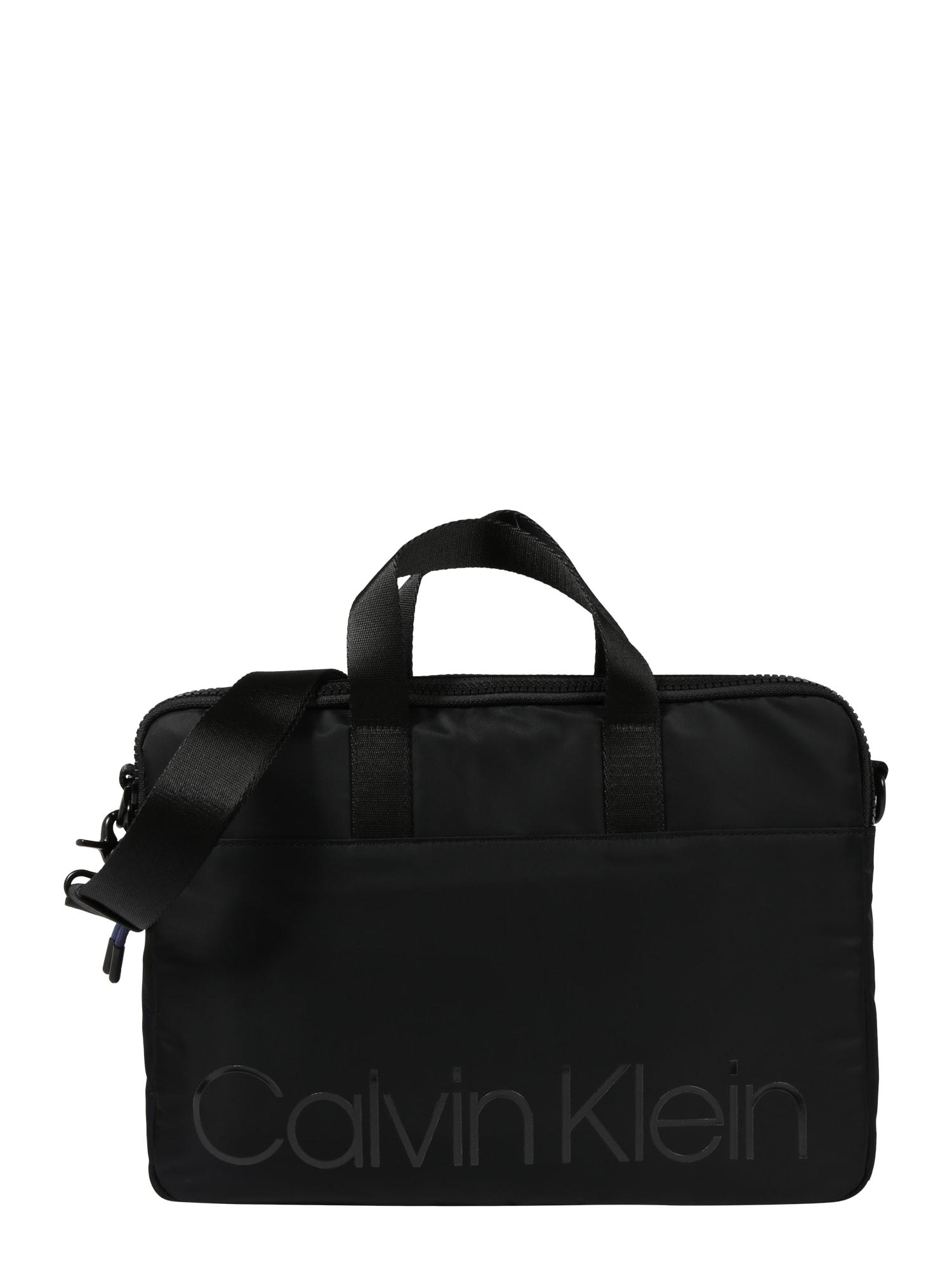Taška na notebook černá Calvin Klein