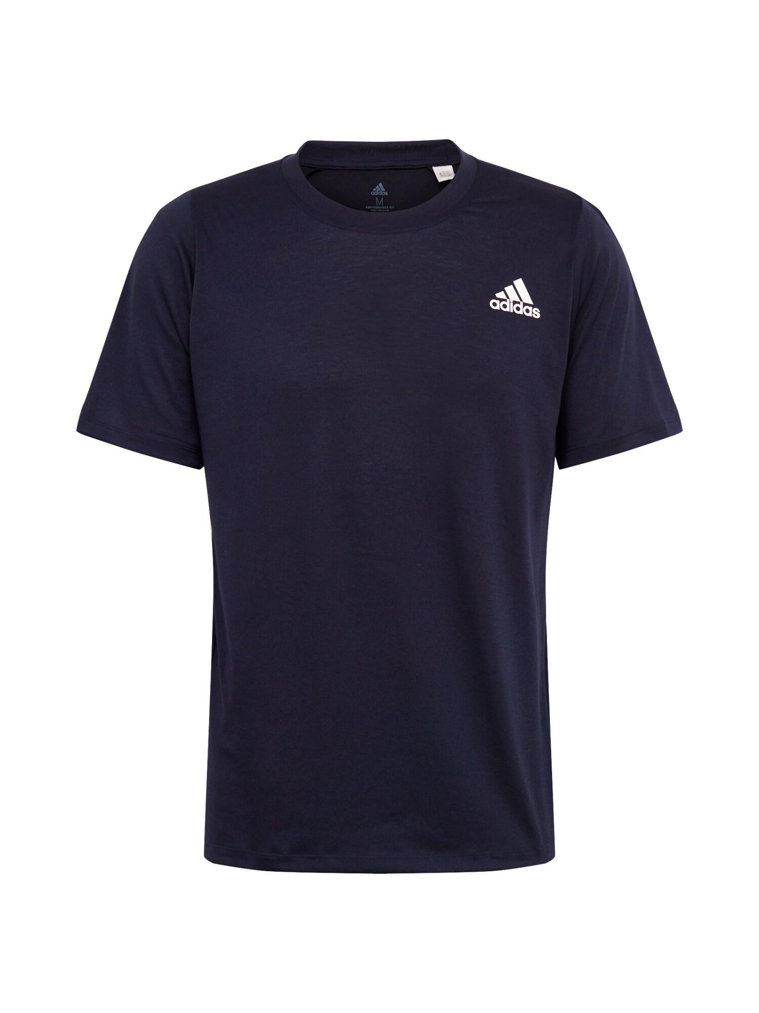 ADIDAS PERFORMANCE Funkčné tričko 'FreeLift Sport Prime Lite'  námornícka modrá / biela