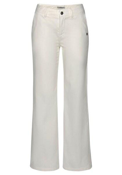 Hosen für Frauen - Chinohose › Tom Tailor Polo Team › weiß  - Onlineshop ABOUT YOU