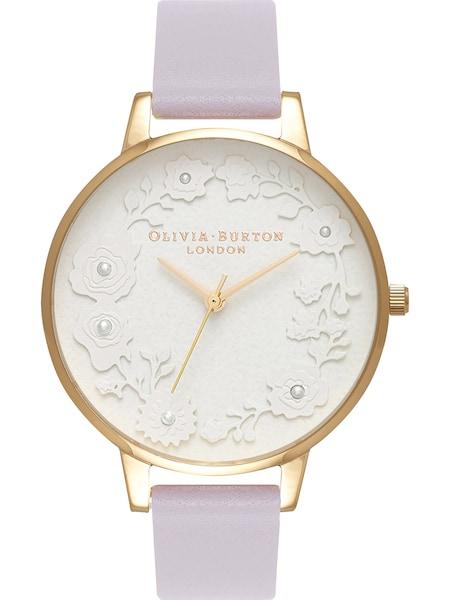 Uhren für Frauen - Olivia Burton Uhr 'Parma' gold flieder  - Onlineshop ABOUT YOU