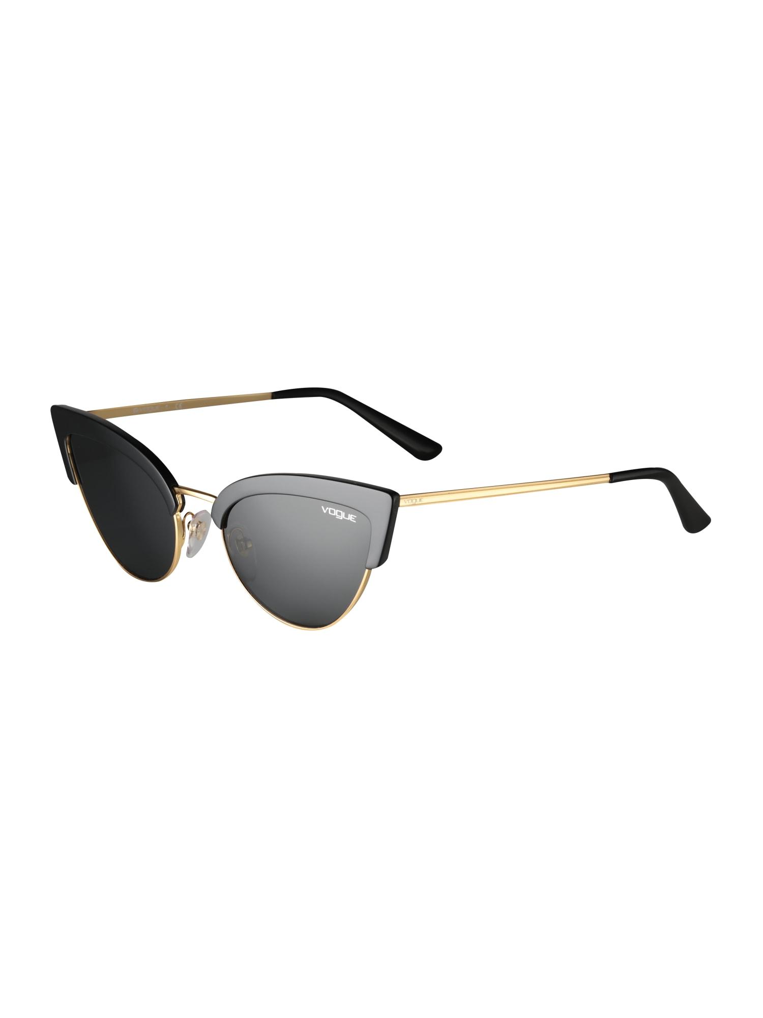 Sluneční brýle zlatá šedá černá VOGUE Eyewear