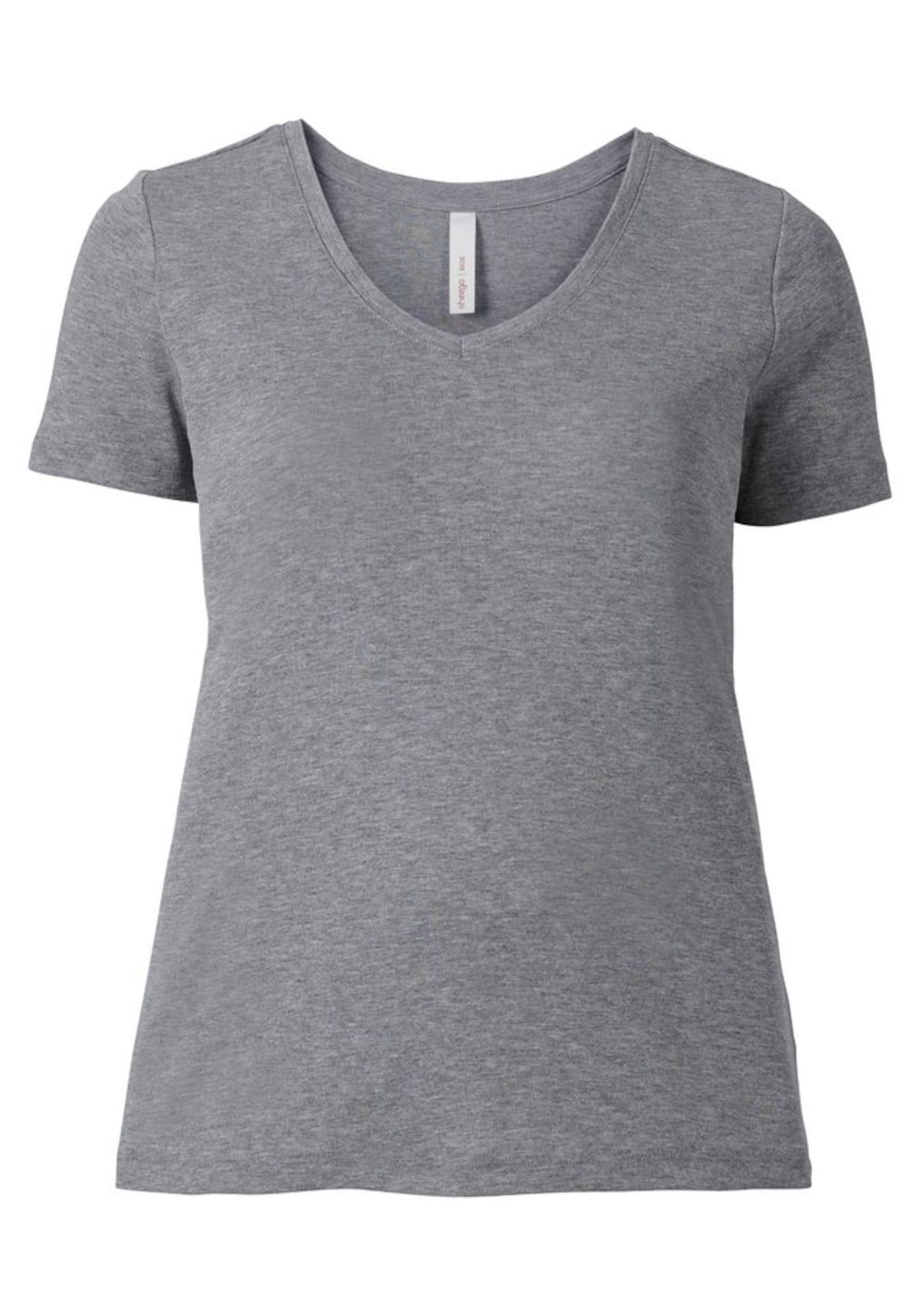 SHEEGO Marškinėliai pilka