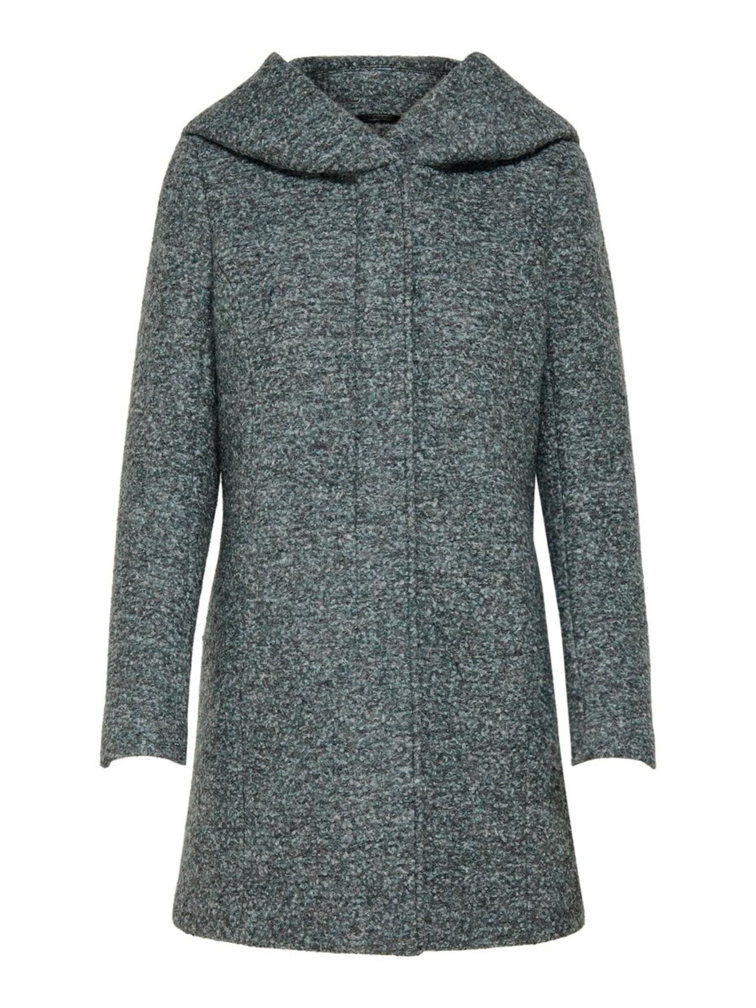 ONLY Přechodný kabát  tmavě zelená