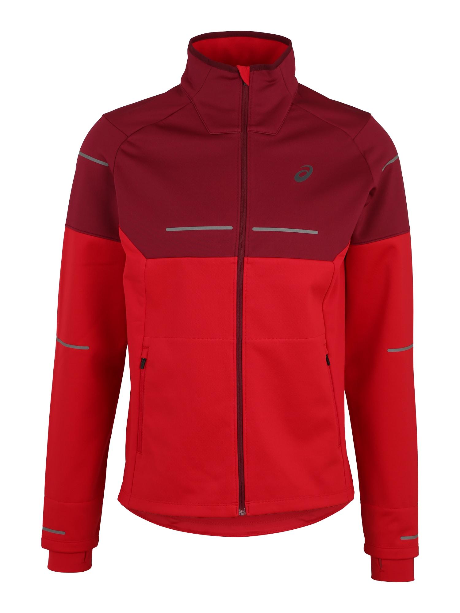 Sportovní bunda LITE-SHOW červená ASICS