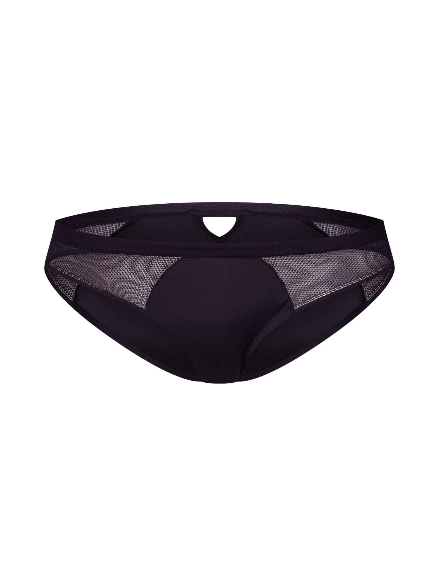 Kalhotky sloggi S Symmetry Low Rise Cheeky černá SLOGGI