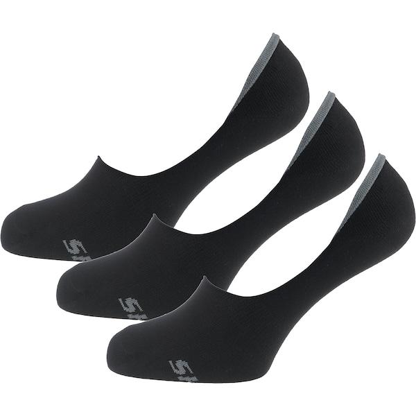Socken für Frauen - SKECHERS Füßlinge dunkelgrau schwarz  - Onlineshop ABOUT YOU