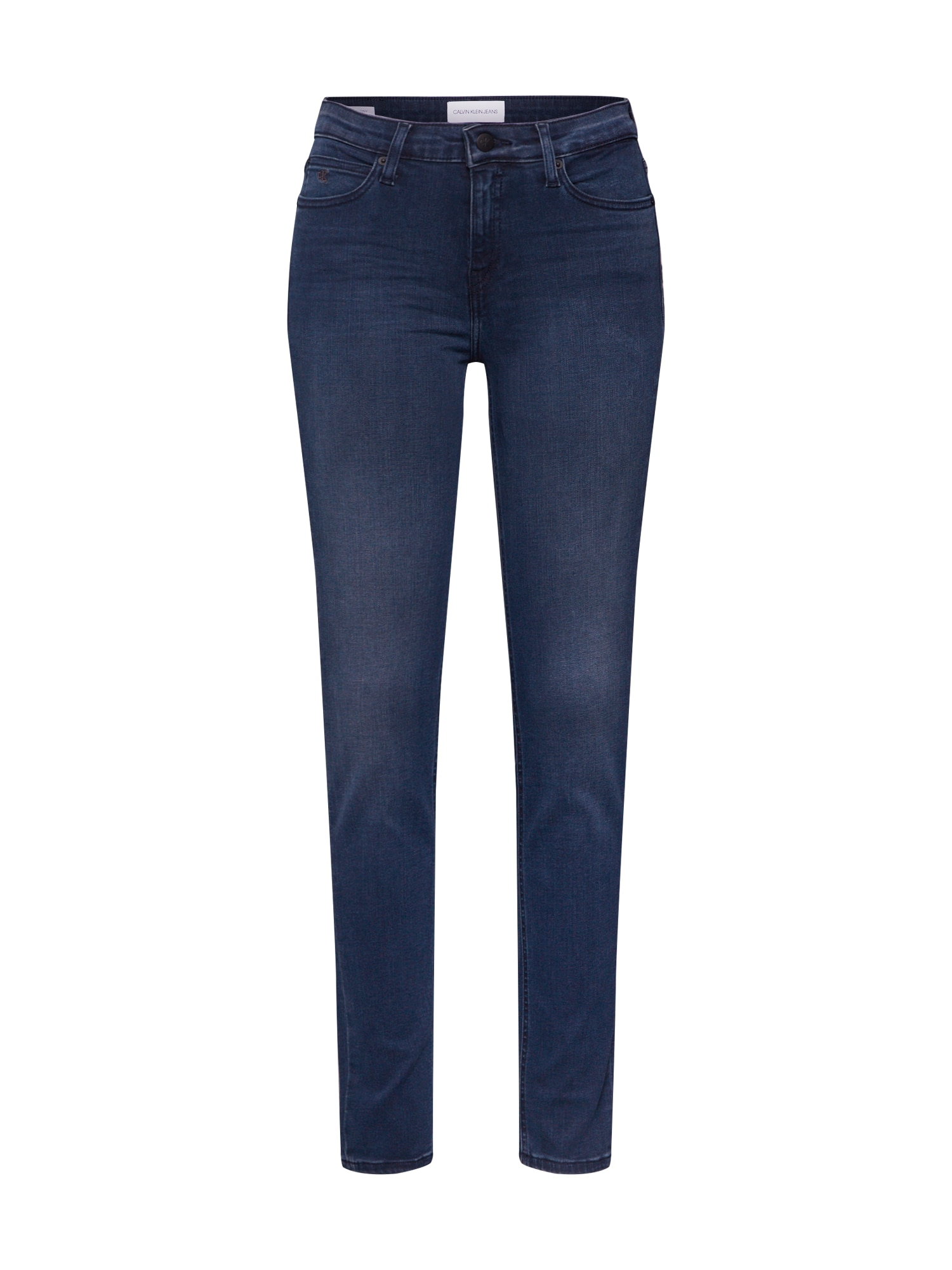Calvin Klein Džinsai 'CKJ 011 MID RISE SKINNY' tamsiai (džinso) mėlyna