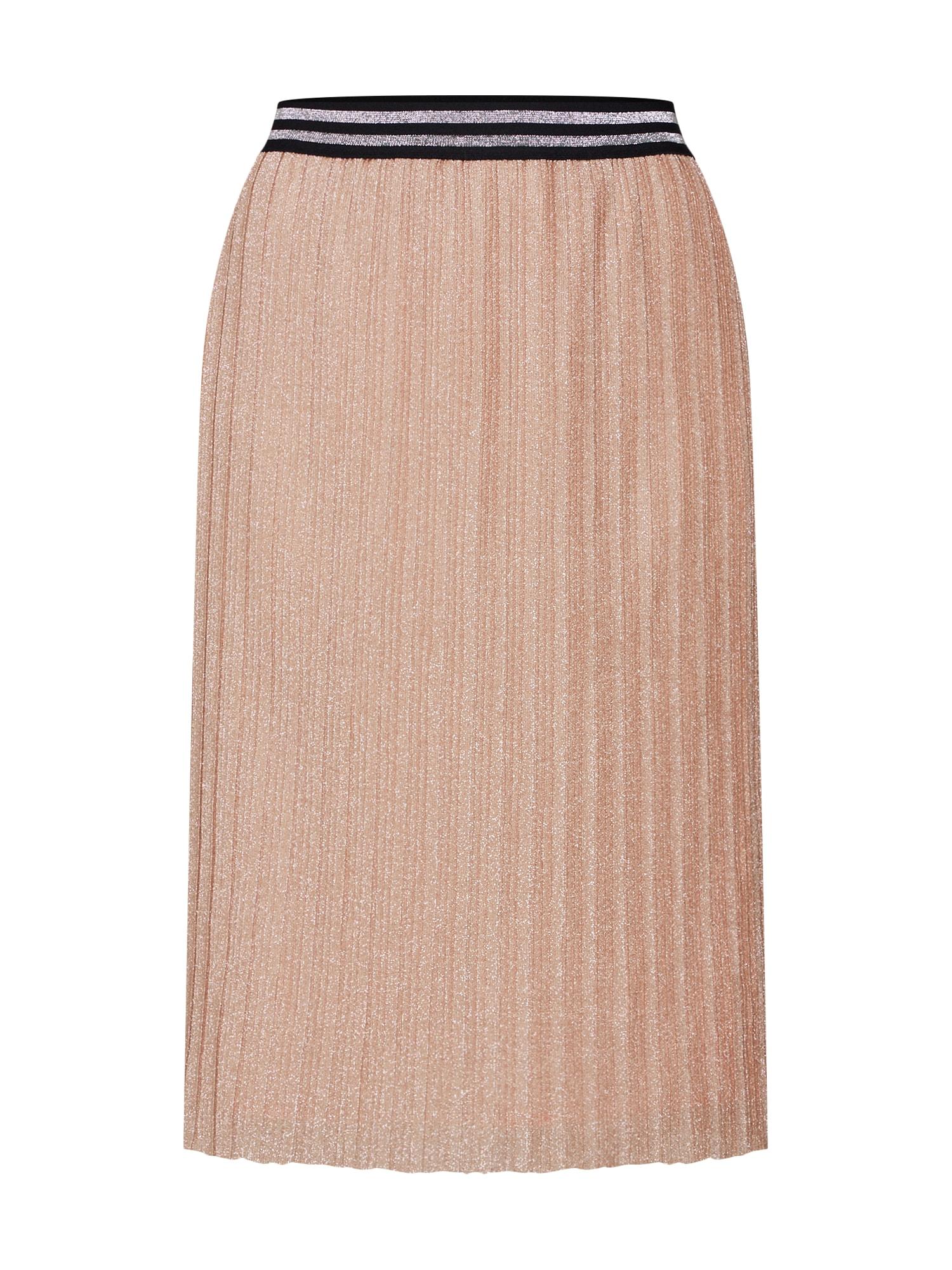 Sukně růžová černá Sofie Schnoor