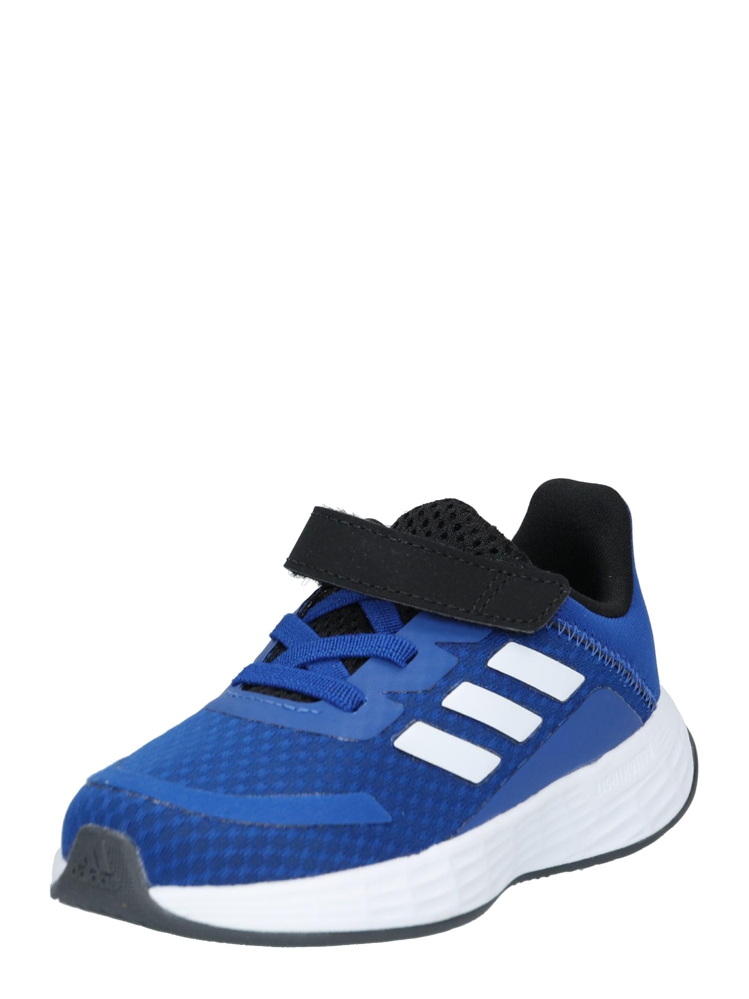 ADIDAS PERFORMANCE Sportovní boty 'Duramo'  bílá / modrá / černá