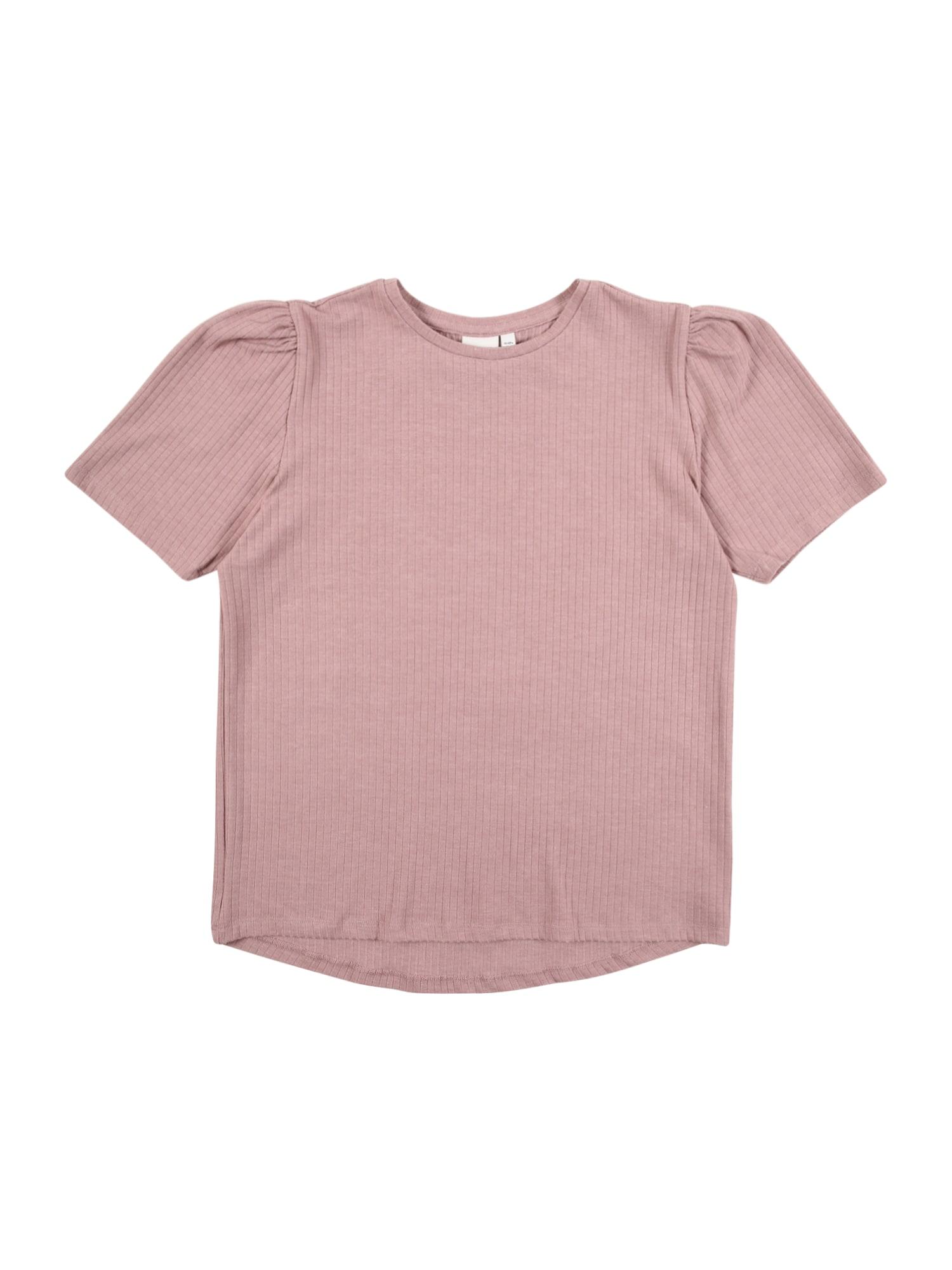 NAME IT Marškinėliai ryškiai rožinė spalva
