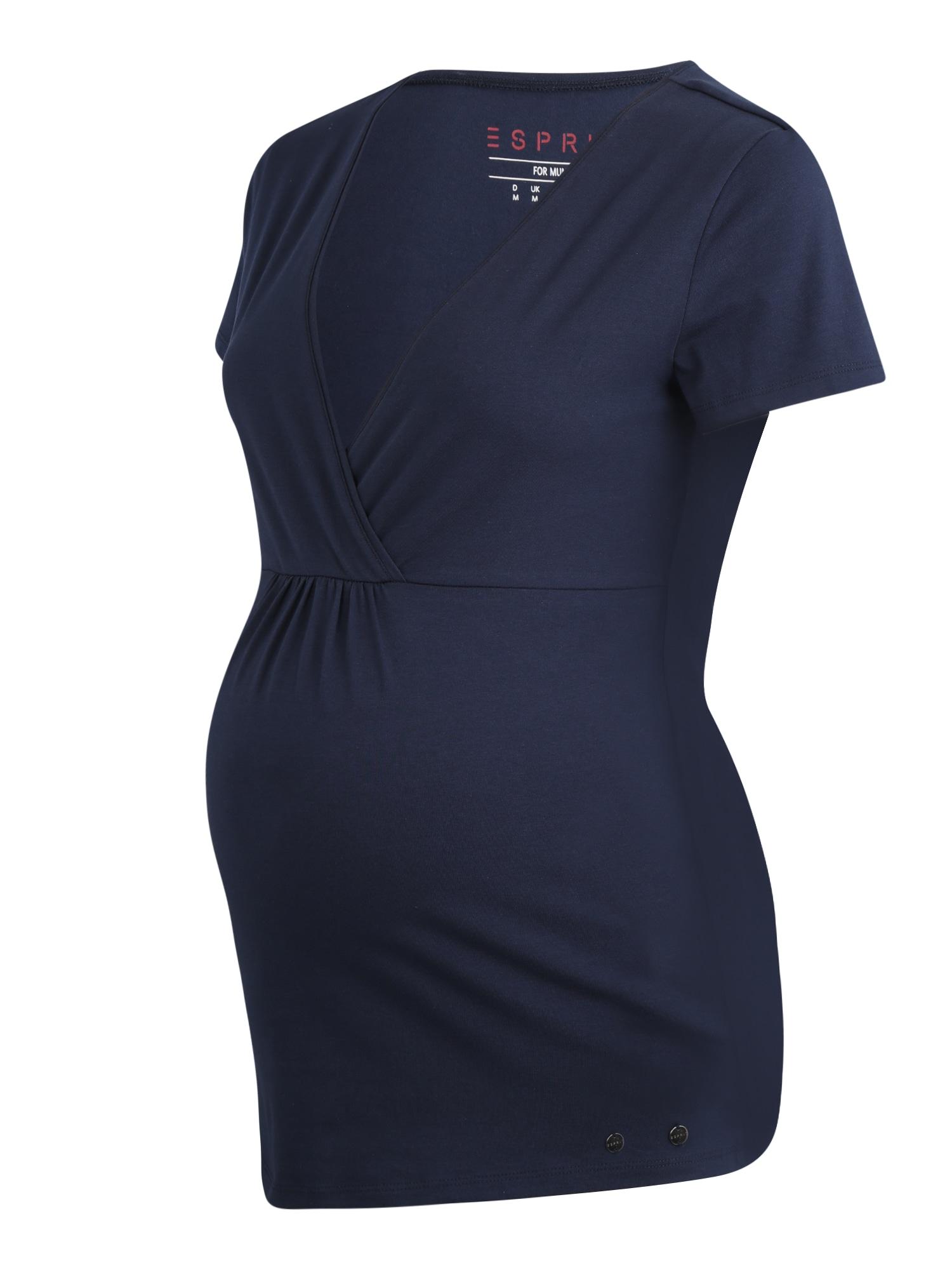 Esprit Maternity Marškinėliai nakties mėlyna