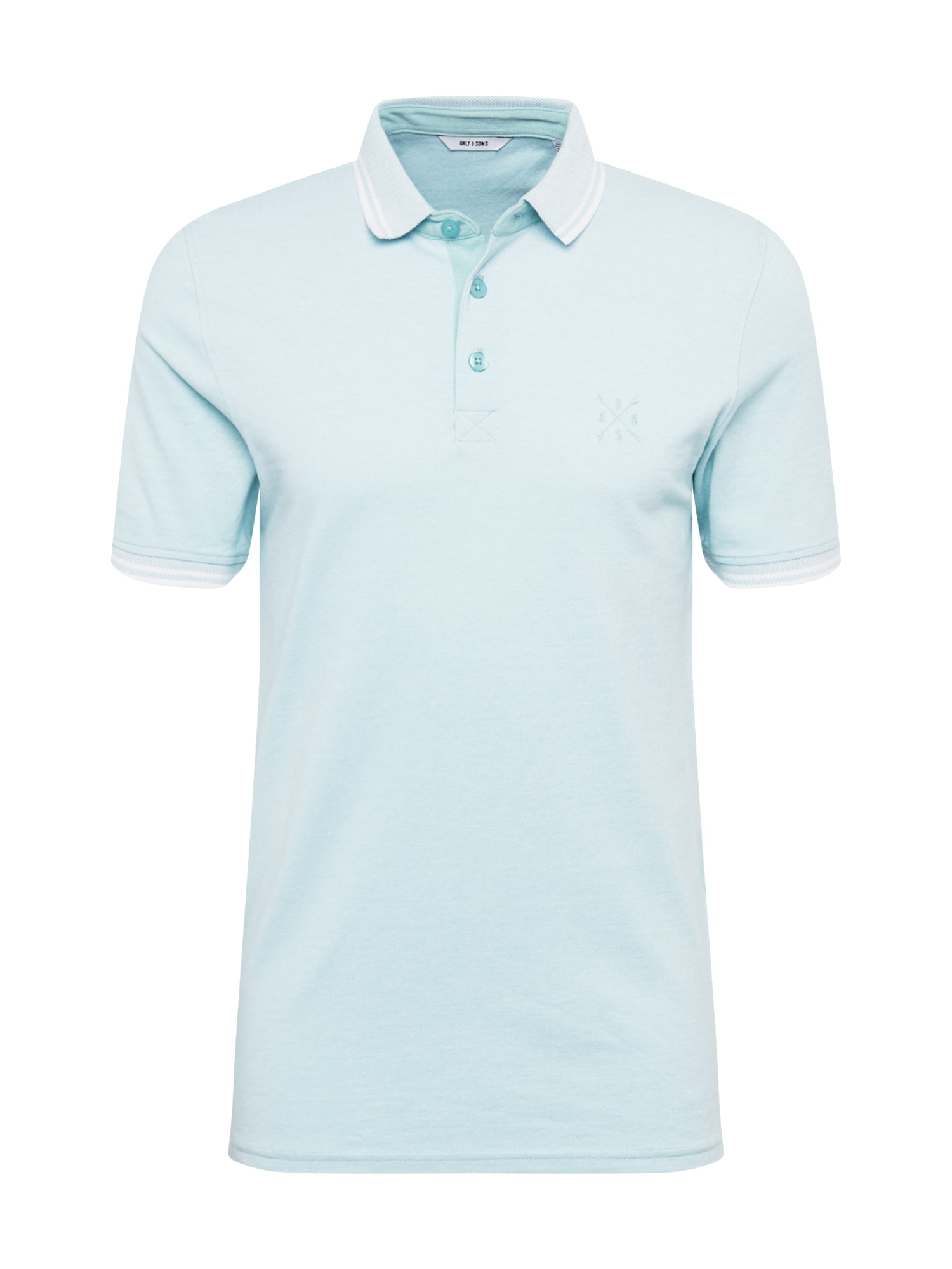 Only & Sons Tričko 'onsSTAN SS FITTED POLO TEE NOOS'  mätová