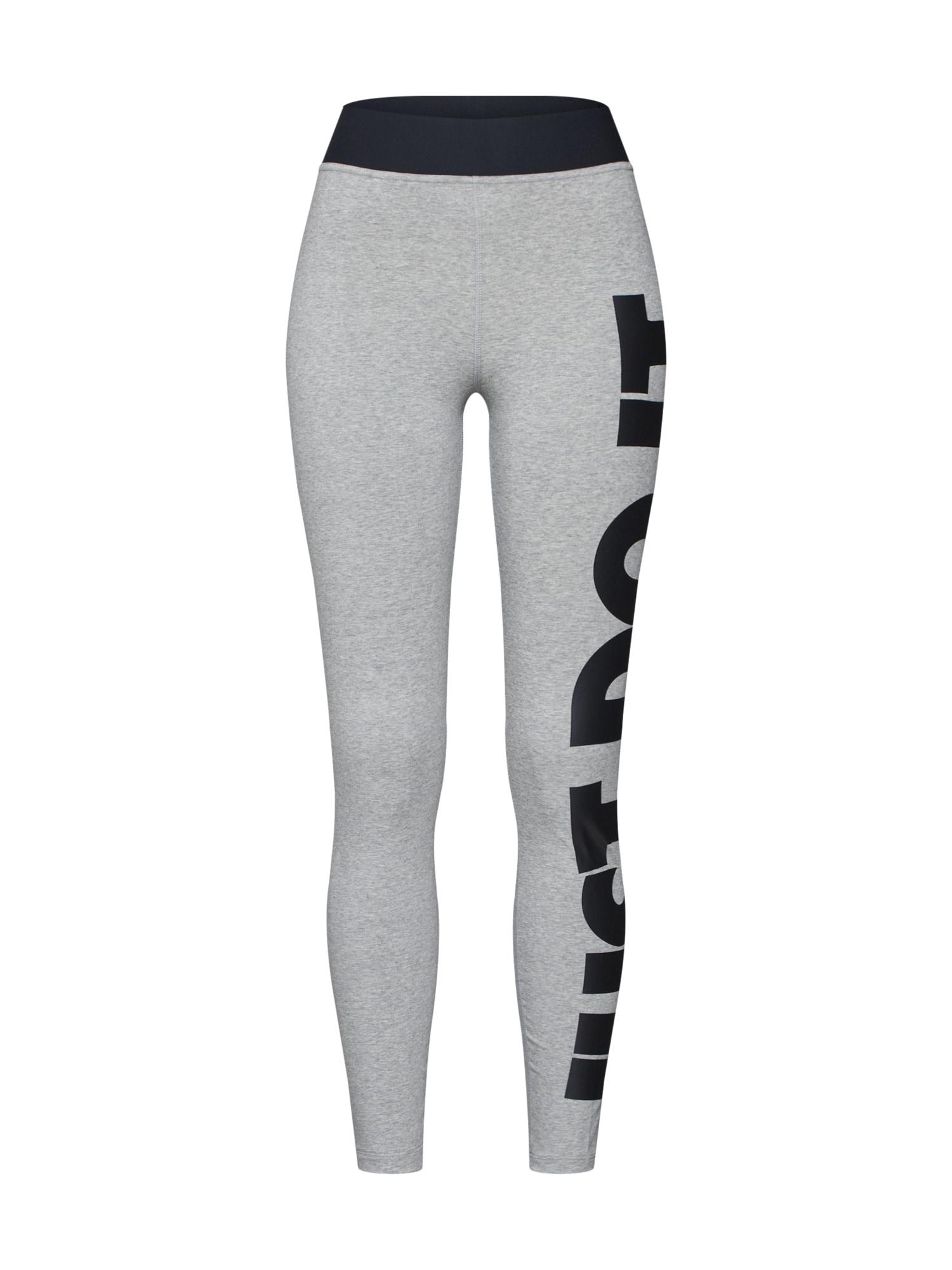 Legíny LEGASEE šedá Nike Sportswear