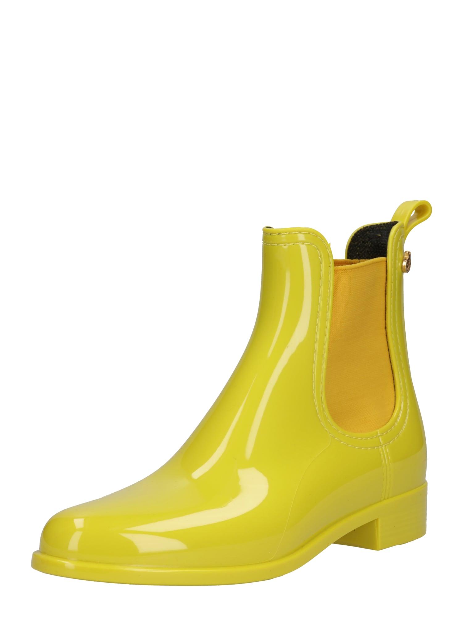 LEMON JELLY Guminiai batai 'Comfy' geltona