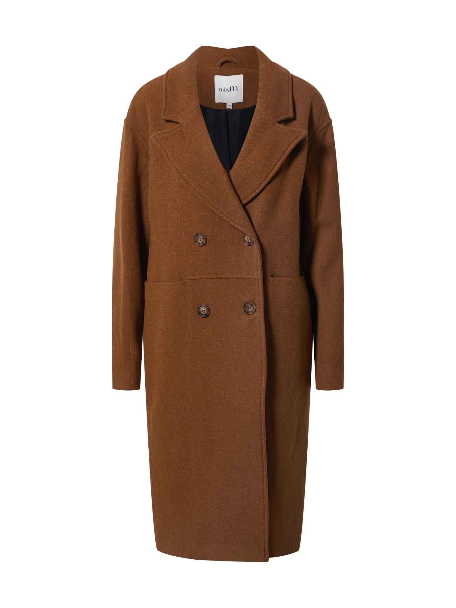 mbym Demisezoninis paltas ruda
