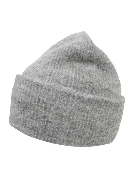Muetzen für Frauen - Samsoe Samsoe Mütze graumeliert  - Onlineshop ABOUT YOU