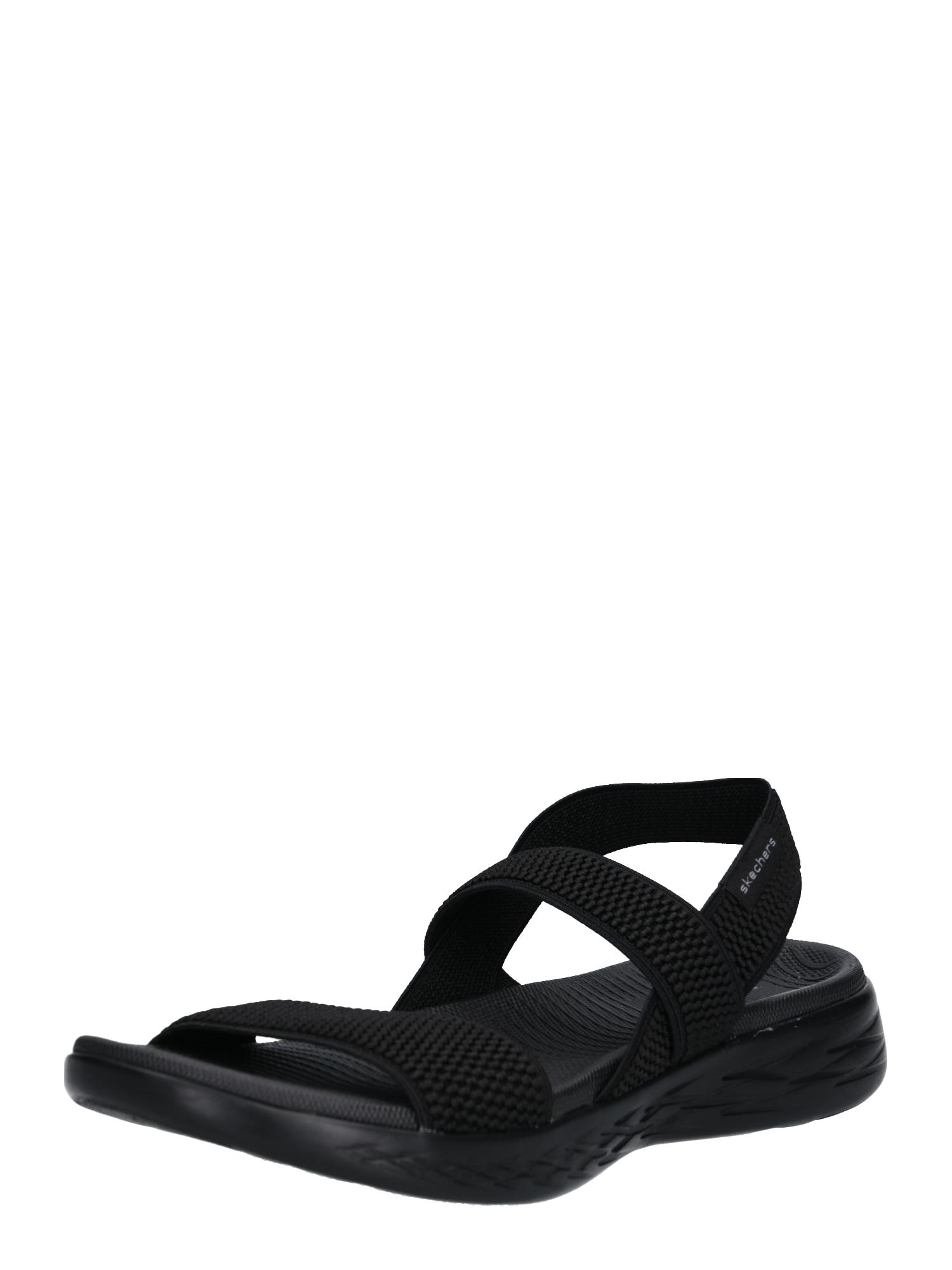 Páskové sandály ON-THE-GO 600 - FLAWLESS černá SKECHERS