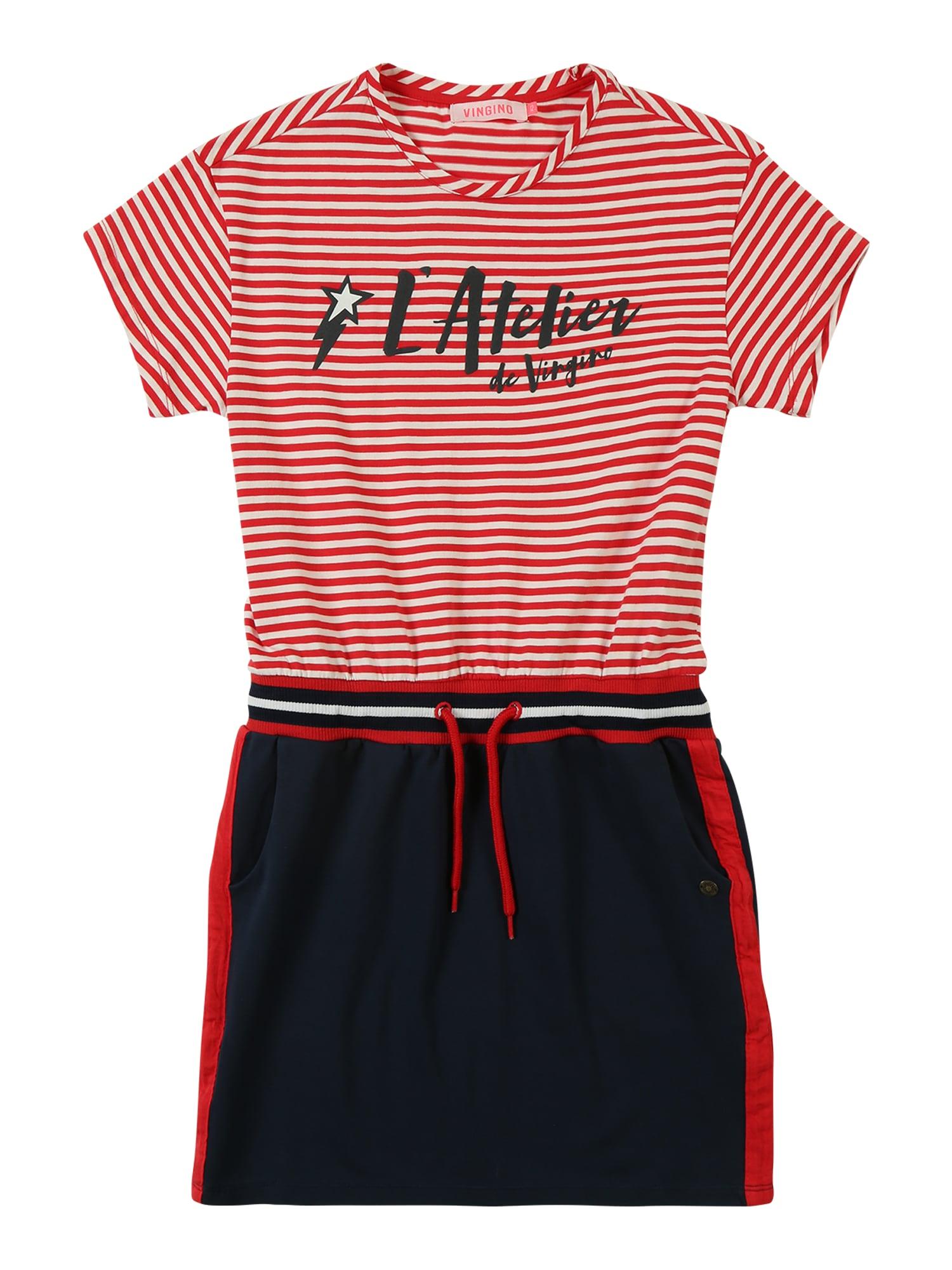 Šaty Palonne červená černá VINGINO