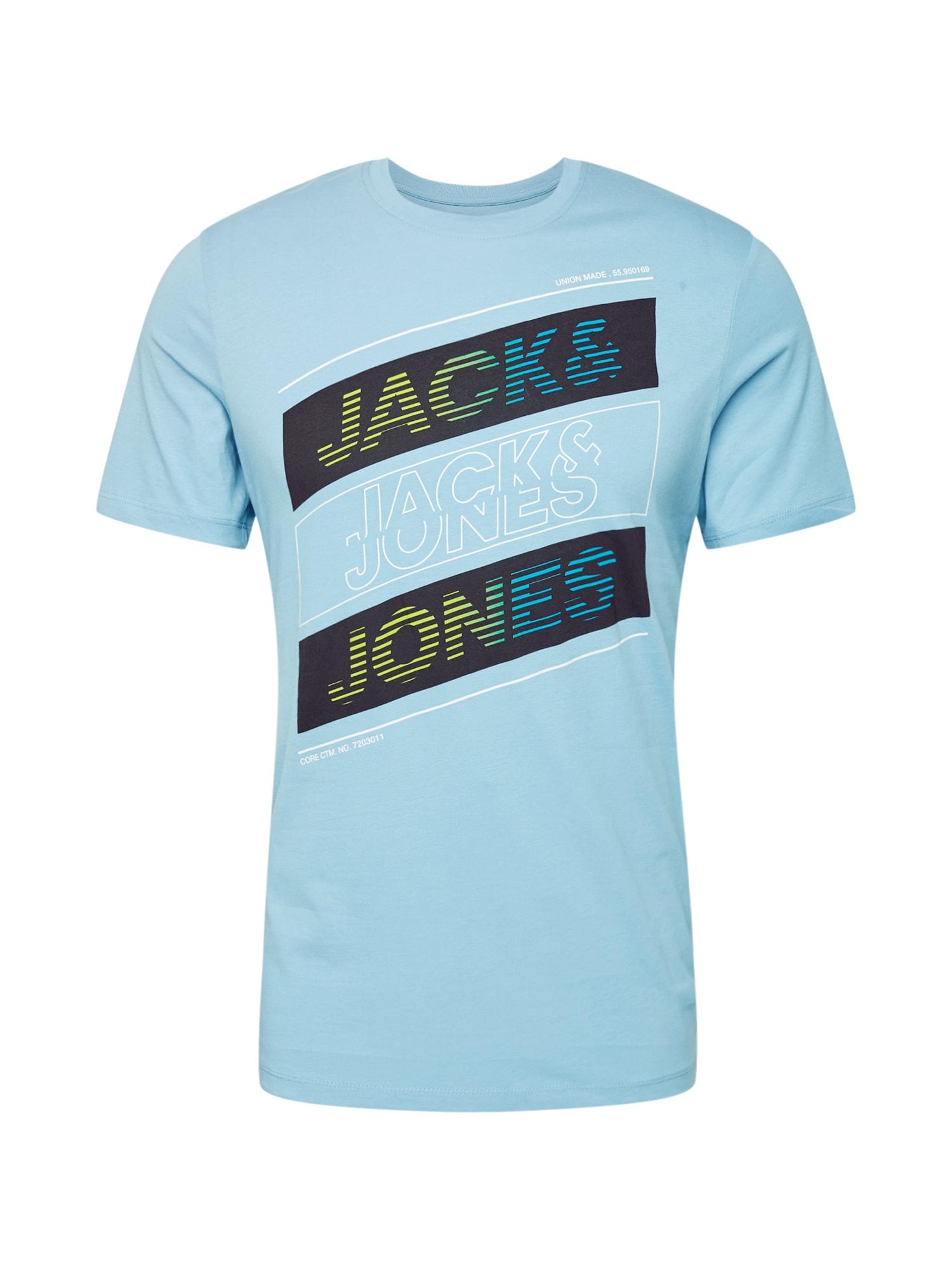 JACK & JONES Tričko 'JCOSOUL'  modré
