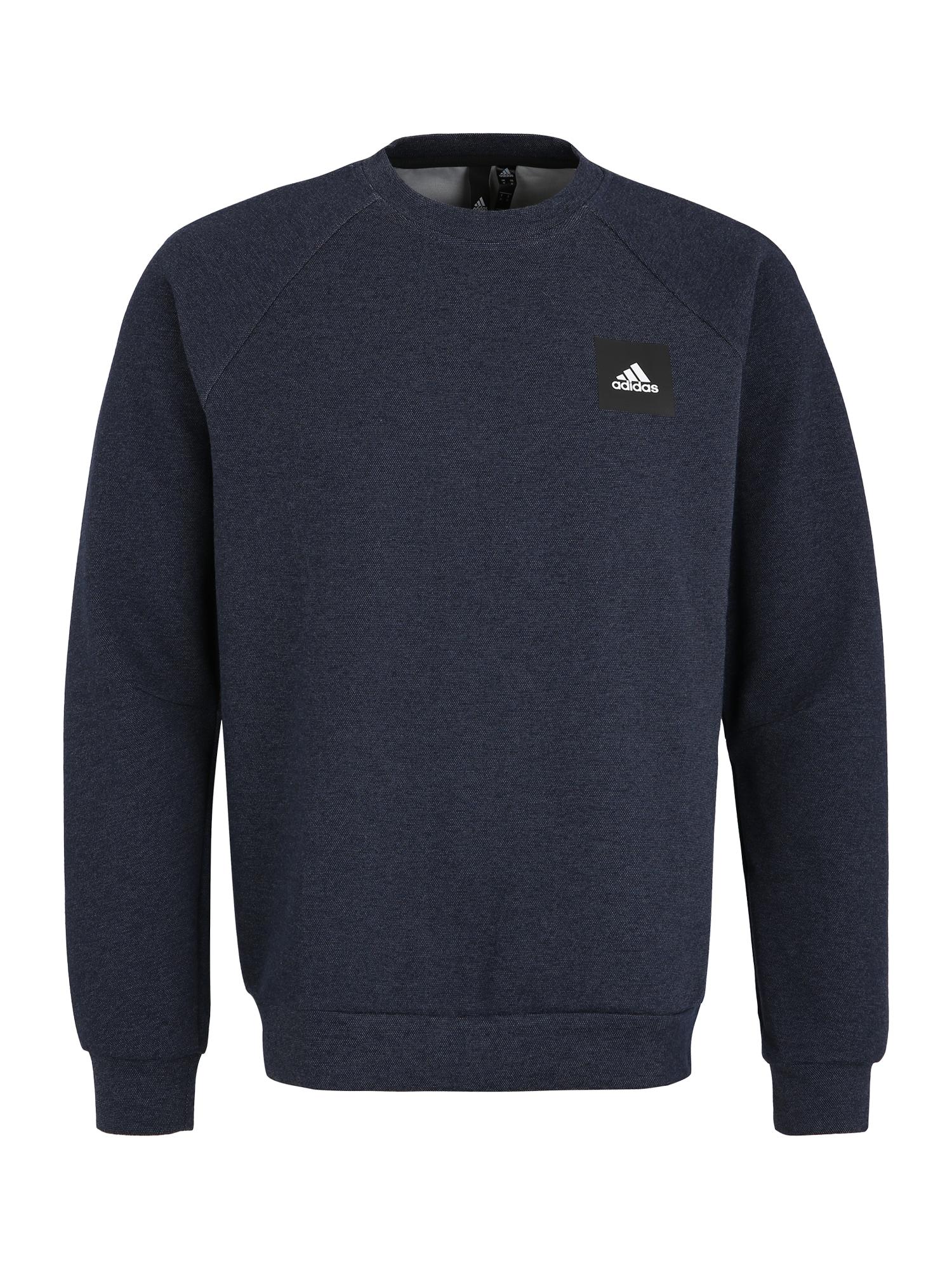 ADIDAS PERFORMANCE Sportinio tipo megztinis tamsiai mėlyna