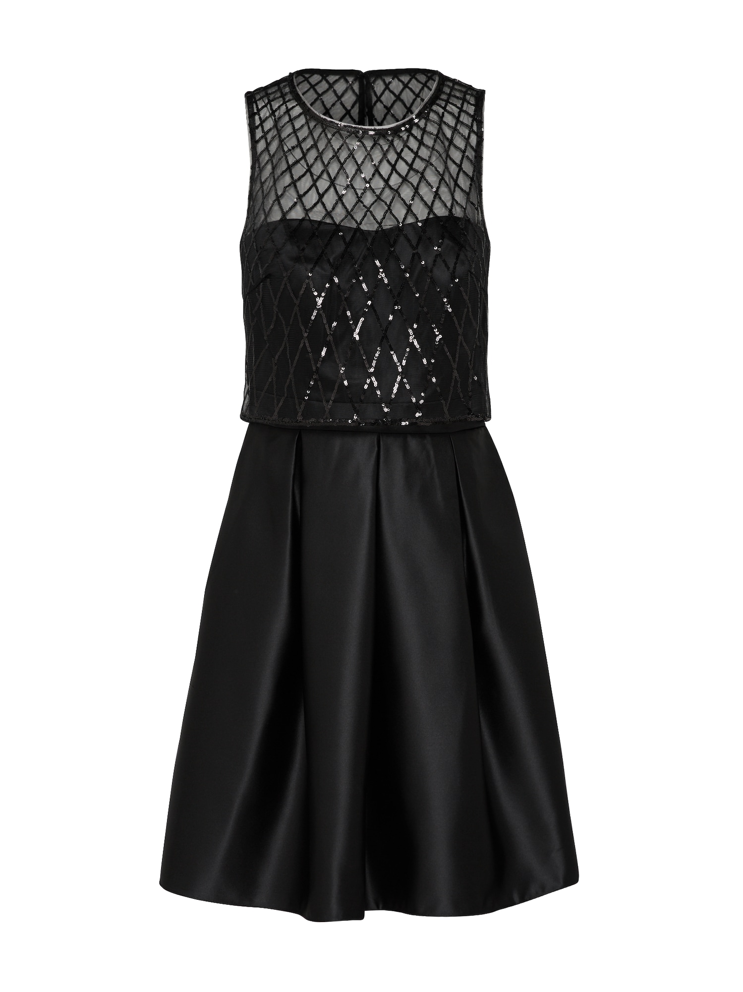 Koktejlové šaty černá Laona