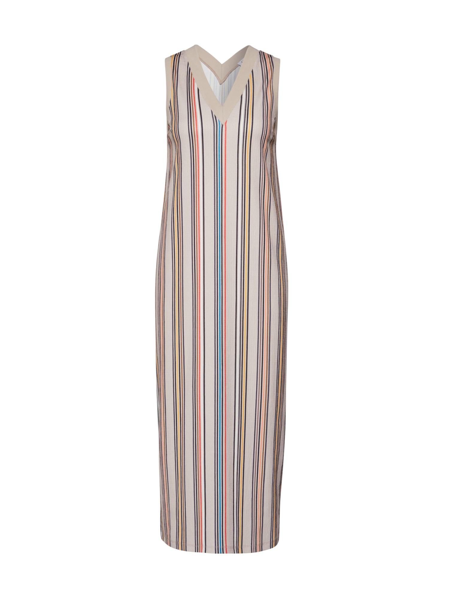 EDITED Vasarinė suknelė 'Shaila' mėlyna / smėlio / raudona
