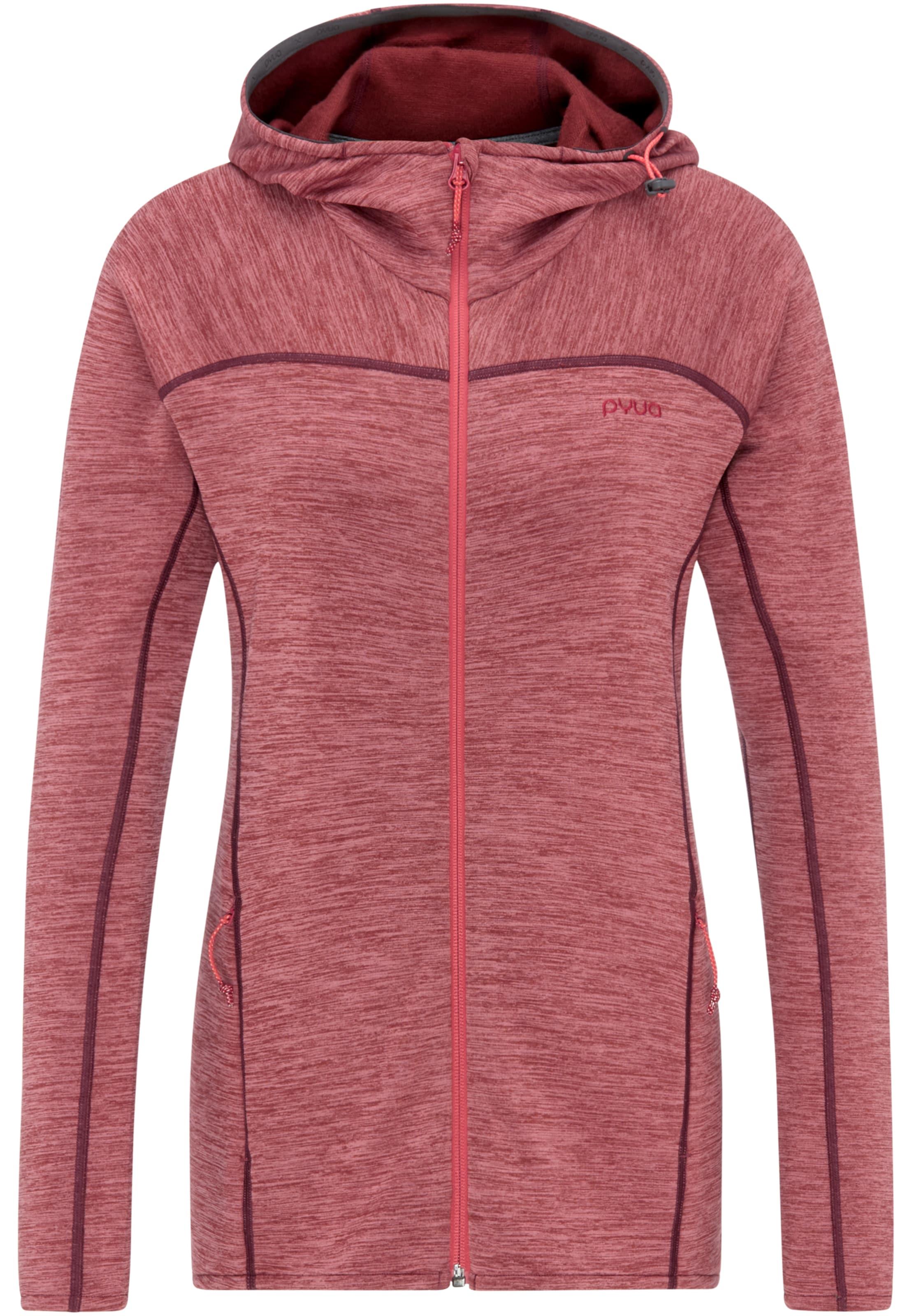 Damen PYUA Jacke 'Foxy' blau, bunt,  mehrfarbig, grau, rot | 04250804779466